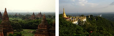 Bagan and View from Mandalay