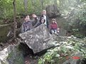 a large rock -one of the places that we like to visit